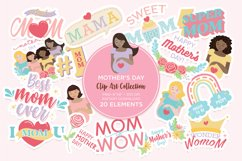 Mother's Day Clip Art Digital Sticker Product Image 1