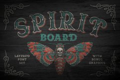 Spirit Board font set Product Image 1