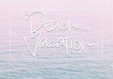 Beach Bum - Handwritten Script Font Product Image 6