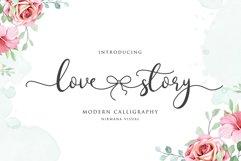 Lovestory - Romantic Font Product Image 1