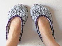 2 Hour Women's Slipper Crochet Pattern Product Image 4