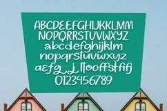 Web Font Hungry Cupcakes Font Product Image 6