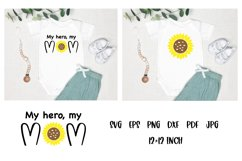 Mom Quotes SVG. Baby Quotes SVG. Sunflower SVG. Baby SVG Product Image 1