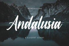Andalusia // A Elegant Script Font Product Image 1