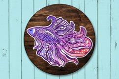 3D Zentangle Fish | 3D Papercut SVG Product Image 4