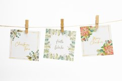 Watercolor Winter frames. Christmas cliparts Product Image 5