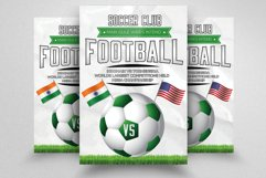7 Football Match Flyers Bundle Product Image 2