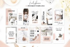 Ladyboss Pinterest Templates for Canva and Photoshop Product Image 3