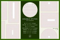 Stitched Nesting Shapes V2 Fancy Stitches   sketch foil SVG Product Image 5