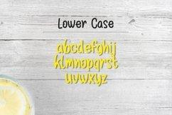 Web Font Lemon Drizzle Product Image 2