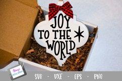 Christmas Ornament Bundle - 6 Arabesque Ornament SVG Designs Product Image 5