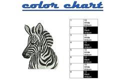 Zebra machine embroidery designs Product Image 2