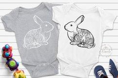 Easter Bunny Mandala Lotus Product Image 1