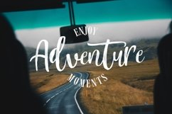 Mountain Script - Brush Fonts Product Image 4