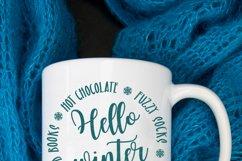Winter SVG Bundle | Snowflake Svg | Winter Sign SVG Product Image 5