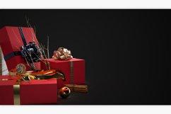 Christmas Mockup Scene PSD Background Product Image 6