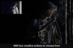 Transcendence Photoshop Action Product Image 4
