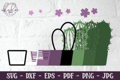 3D Cactus Mandalas, Layered Cactus, Papercut Succulent, DXF Product Image 4