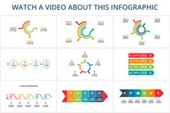 Arrows animated infographics Product Image 6