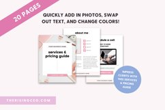 Client Services and Pricing Guide Canva Template Product Image 4