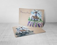 Watercolor Windmill Clipart Product Image 6