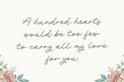 Rachel Bowie Modern Monoline Handwritten Font Product Image 2
