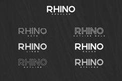 Rhino Bold font Styles Product Image 2