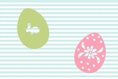 Decorated Easter Egg SVG and Cut File Set Product Image 2