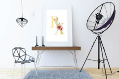 Floral medicine mortar and pestle decor design. Med gift png Product Image 6