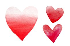 Valentine's Day set of watercolor Product Image 2