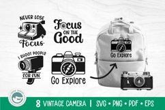 Camera SVG Cut Files Bundle Product Image 2