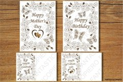 PopUp Happy Birthday, Love You Mom, Happy Mother's Day SVG Product Image 2