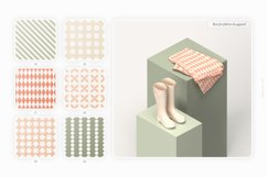 Retro geometric seamless patterns collection Product Image 4