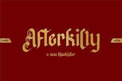 Afterkilly - New Blackletter Product Image 1