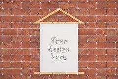 """Poster mockup 8x10"""" brick wall Product Image 1"""