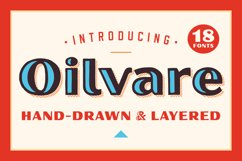 Oilvare Font Family Product Image 1
