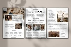 Influencer Media Kit Template, 3 Pages, Canva Product Image 2