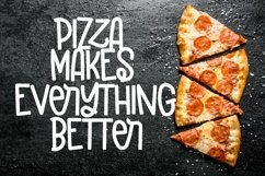Web Font Pizzarony - A Silly Sans Serif With Ligatures Product Image 4