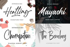 New Year Big Bundle - Crafting Fonts Collection Product Image 6