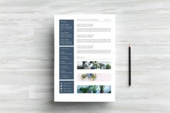 Chic Word Resume Template CV Product Image 3