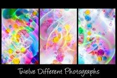 12 Bubble Rainbow Unicorn Photography Backgrounds Product Image 2