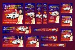 Car Rental Banner Pack Product Image 2