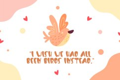 Flying Lover-Cute Display Font Product Image 2
