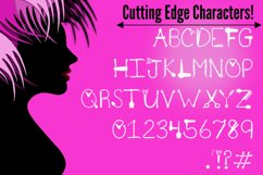 Hair Candy - A Sassy Font for Beauticians Product Image 4