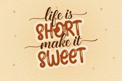 Brown Sugar Handwritten Font Product Image 2