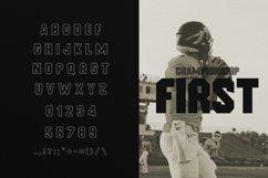 Frat Font - Modern Uppercase Sans Serif Product Image 3