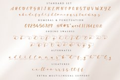 Milda A Bouncy Calligraphy Font Product Image 5