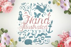 Karenina Script Font + Cute Vectors Product Image 4