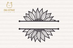 Cute Sunflower svg, Sunflower svg, Sunflower clipart Product Image 4