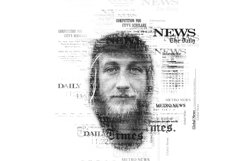 Newspaper Text Photoshop Action Product Image 6